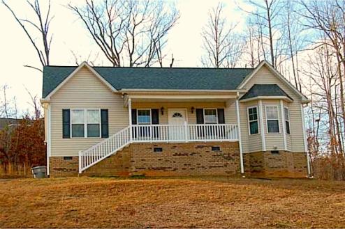 Randleman NC Home for Sale | 2557 Strawberry Lane | Exterior Front | Waynette Araj