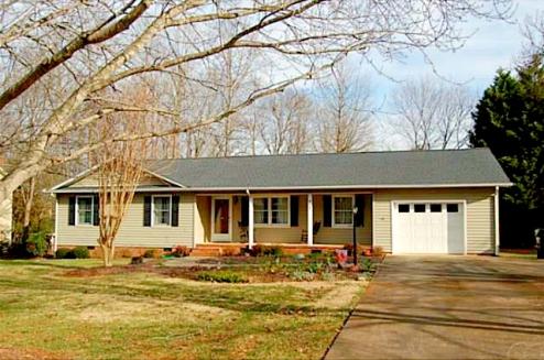 Asheboro NC Home for Sale | 902 Rockcliff Terrace | Exterior Front | Waynette Araj