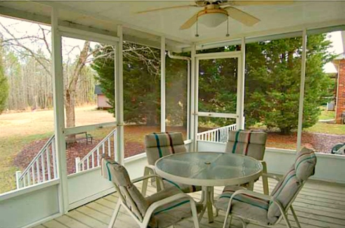 Asheboro NC Home for Sale | 902 Rockcliff Terrace | Porch | Waynette Araj