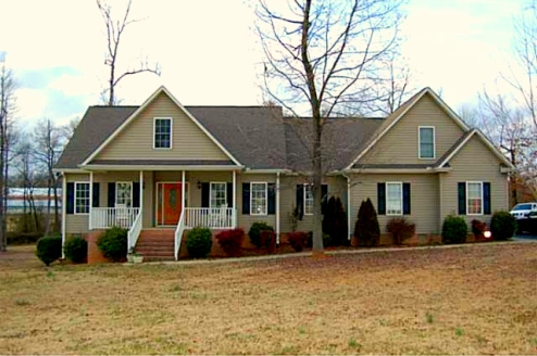 Climax NC Home for Sale | 3025 Lock Highland Ct | Exterior Front | Waynette Araj