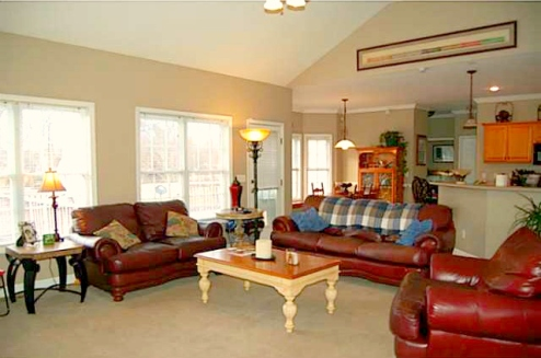 Climax NC Home for Sale | 3025 Lock Highland Ct | Living Room | Waynette Araj