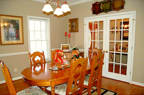 Climax NC Home for Sale   3025 Lock Highland Ct   Dining Room   Waynette Araj