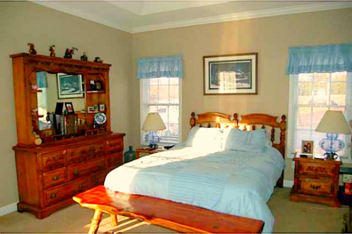 Climax NC Home for Sale | 3025 Lock Highland Ct | Master Bedroom | Waynette Araj