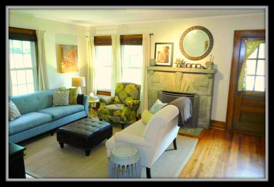 Asheboro NC Home for Sale | 1247 Sunset Dr | Living Room | Waynette Araj | Asheboro NC Listing Agent