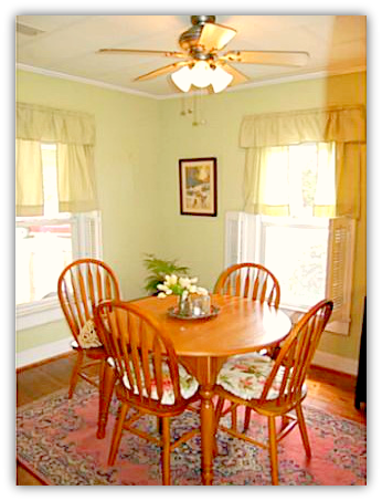 Asheboro NC Home For Sale | 245 Chaney Rd | Dining Room | Waynette Araj | Asheboro NC Realtor