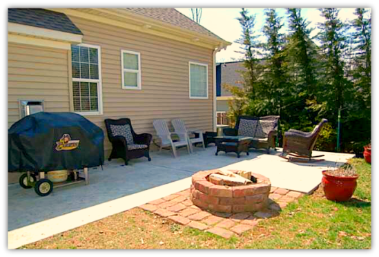 Randleman NC Home For Sale | 327 Trollinger St | Patio | Waynette Araj | Randolph County Listing Agent
