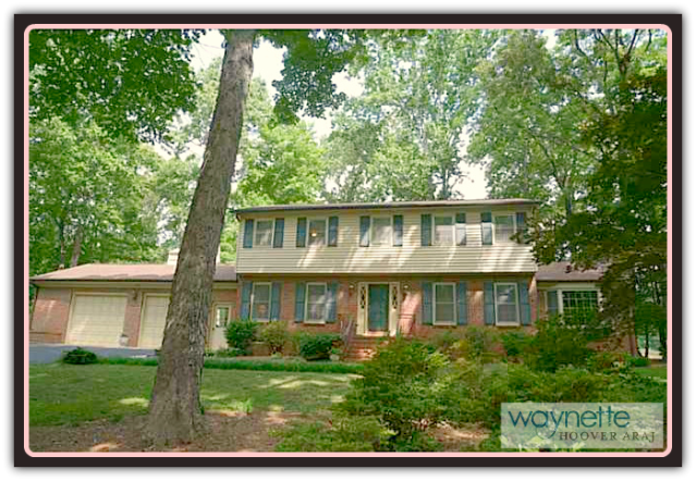 Asheboro NC Home for Sale | 401 Pinewood Rd | Front view of this lovely home in Asheboro.