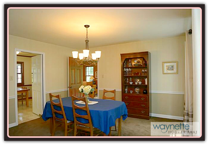 Asheboro NC Home for Sale | 401 Pinewood Rd | Dining Room
