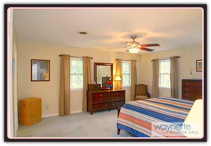 Asheboro NC Home for Sale | 401 Pinewood Rd | Master Bedroom