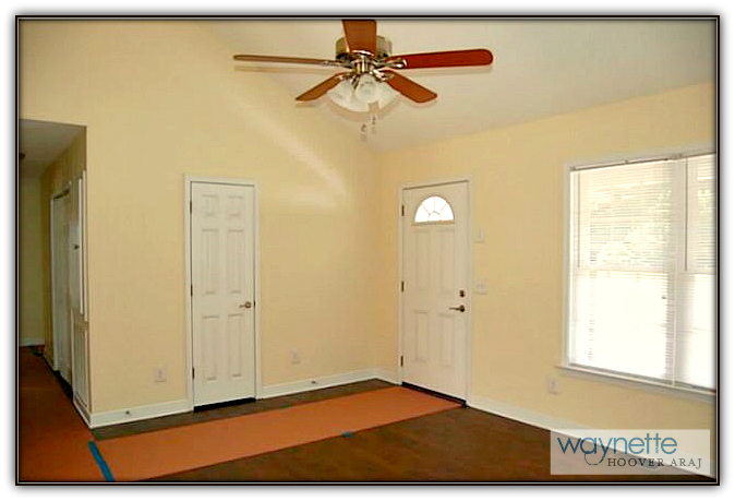Asheboro Home for Sale - 5115 NC HWY 134 - Living Room- featuring a hand hewn hickory floors
