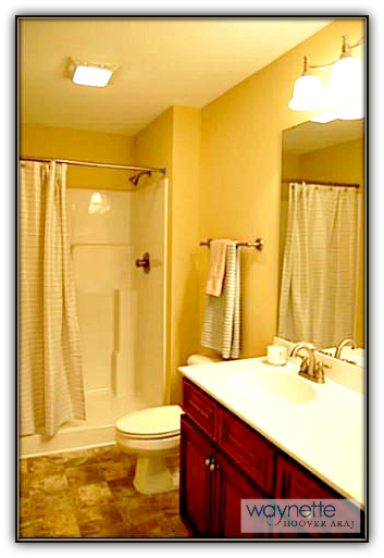 Asheboro Home for Sale - 5115 NC HWY 134 - Lovely master bathroom with walk-in shower