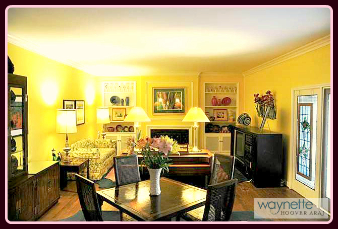 1167 Westover Terrace | Living room for entertaining guests.