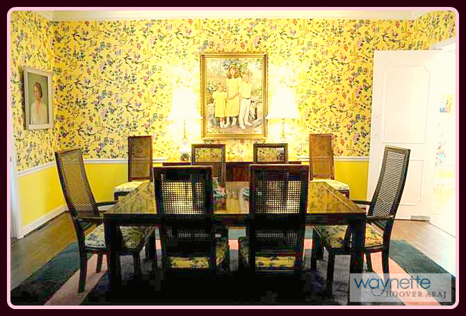 1167 Westover Terrace | Home for sale in Asheboro formal dining room