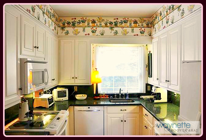 Asheboro NC home for sale | 1167 Westover Terrace | Bright kitchen with lots of cabinets.