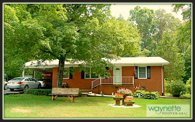 Ramseur NC Home for Sale | 377 Curtis St., Ramseur | Lovely brick-home with 2 bedrooms
