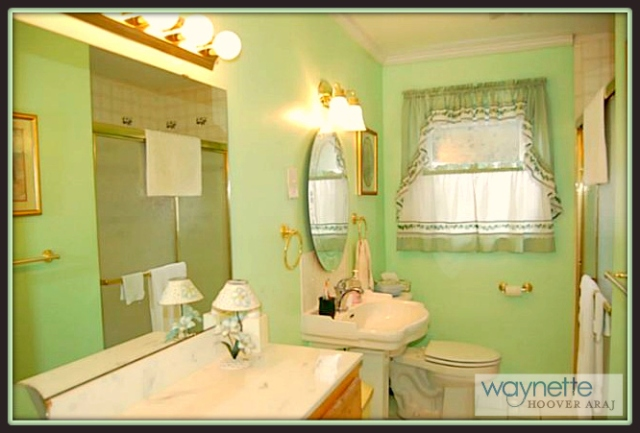 Ramseur NC Home for Sale | 377 Curtis St., Ramseur | Bright bathroom