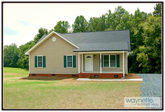 Asheboro NC Home for Sale - 1973 Burney Rd - Exterior Front