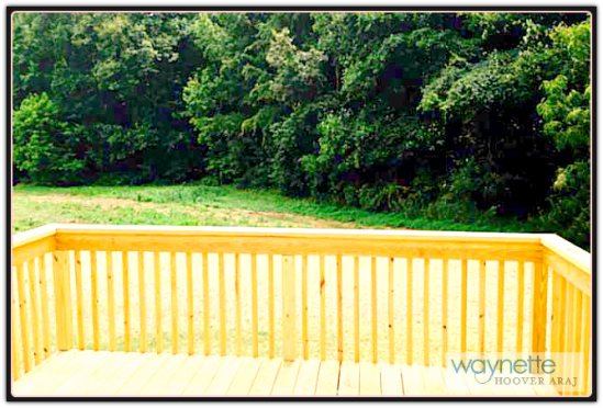 1973 Burney Rd - Asheboro NC Home for sale - Deck