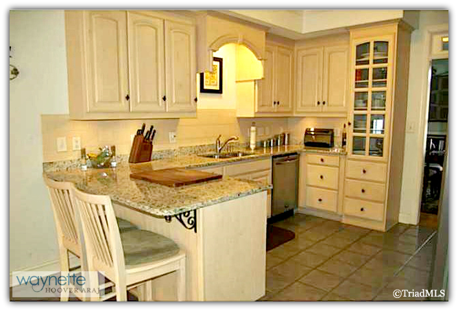 Randleman NC Home for Sale | 2968 Kamerin St | Kitchen and Eat-in Area