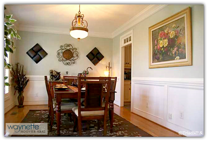 Randleman NC Home for Sale | 2968 Kamerin St | Dining Room
