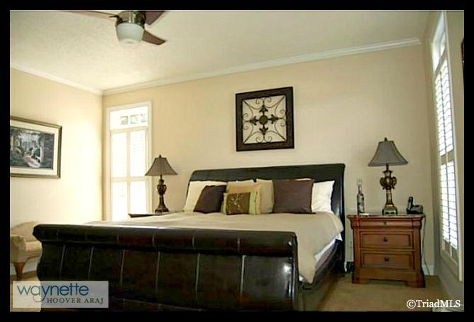 Randleman NC Home for Sale | 2968 Kamerin St | Master Bedroom
