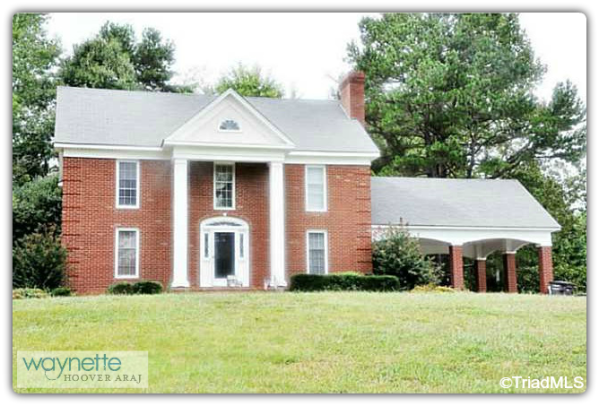 Asheboro NC Country Home for Sale | 5742 High Pine Church Rd 004 | Front View